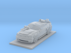 Mustang Car in Smooth Fine Detail Plastic