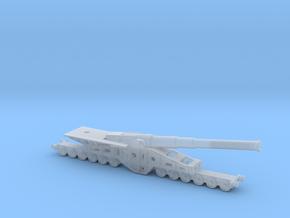 Canon de 340 mm 1/200 railway artillery  in Smooth Fine Detail Plastic