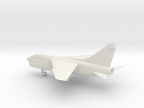 Vought LTV A-7E Corsair II in White Natural Versatile Plastic: 1:72