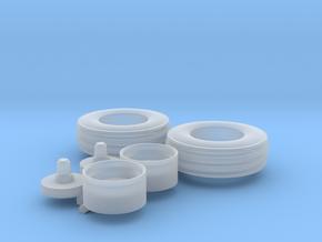 H0 1:87 Reifen 125/80-18 in Smooth Fine Detail Plastic