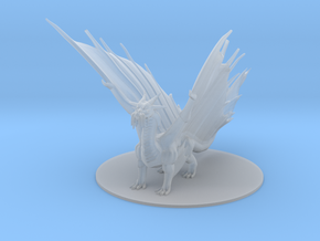 Ancient Gold Dragon in Smooth Fine Detail Plastic
