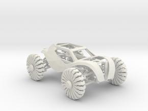 Crawler buggy in White Natural Versatile Plastic