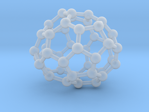 0702 Fullerene c44-74 c1 in Smooth Fine Detail Plastic