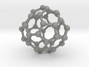 0703 Fullerene c44-75 d2 in Gray Professional Plastic