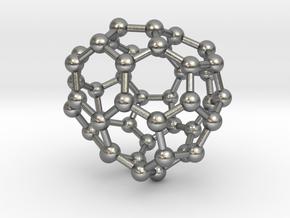 0707 Fullerene c44-79 c1 in Natural Silver