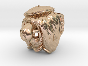 Famous Waggis Ring / 21mm in 14k Rose Gold Plated Brass