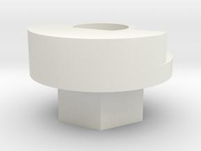ko propo streering wheel adp. in White Natural Versatile Plastic