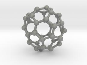 0714 Fullerene c44-86 d3d in Gray PA12