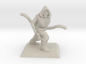 Explorer Elf Ranger in Natural Sandstone