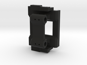 Rear hinge mount for Mojave body on CMAX in Black Natural Versatile Plastic