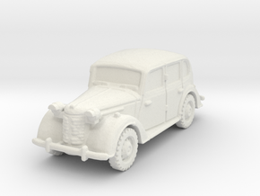 austin 10 staffcar scale 1/100 in White Natural Versatile Plastic
