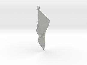 Fractal earrings  in Aluminum