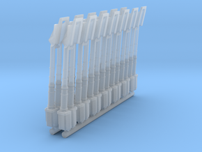YT1300 LOUVER ARM CONVERSION FROM 32 TO 5 FOOT in Smooth Fine Detail Plastic