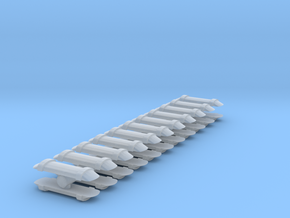 3D_roof air vents_20pcs in Smooth Fine Detail Plastic