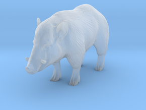 O Scale Wild Boar in Smooth Fine Detail Plastic