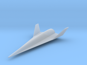 Lockheed Martin Hypersonic Boost Glide Vehicle in Smooth Fine Detail Plastic