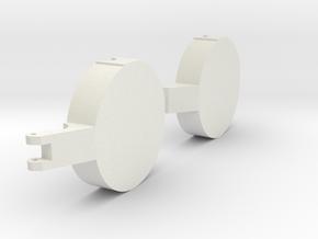 Classic III magnetic in White Natural Versatile Plastic