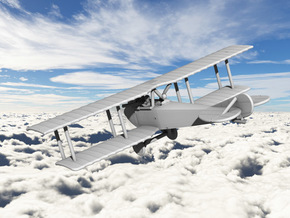 Aviatik C.III in White Natural Versatile Plastic: 1:144