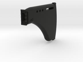 Tactical DMR Shoulder Stock in Black Natural Versatile Plastic