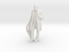 Printle C Homme 1486 - 1/24 - wob in White Natural Versatile Plastic
