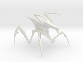 Arachnid Bug in White Natural Versatile Plastic