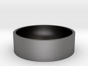 Simple Beauty Ring 22MM in Polished Nickel Steel