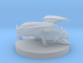 Domestic Shorthair Dragon Cat in Smooth Fine Detail Plastic