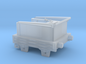 N Gauge 1830s Planet Tender Scratch Aid in Smooth Fine Detail Plastic