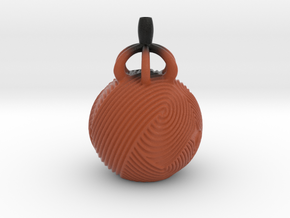 Vase 2112 in Matte Full Color Sandstone