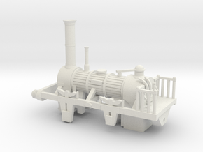 00 Scale 1830s Planet Loco Scratch Aid in White Natural Versatile Plastic