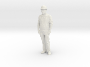 Printle C Homme 1523 - 1/24 - wob in White Natural Versatile Plastic