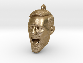 conor-pendant in Polished Gold Steel