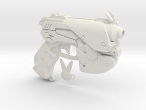 1/3rd scale D.VA Type Pistol in White Natural Versatile Plastic