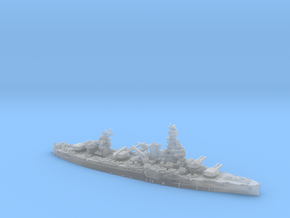 USN BB35 Texas[1944] in Smooth Fine Detail Plastic: 1:1200