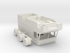 O Scale UPS Truck in White Natural Versatile Plastic