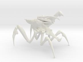 Arachnid Bug 4 in White Natural Versatile Plastic