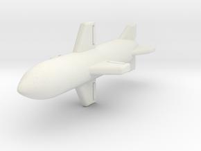 (1:144) Funryu 4 in White Natural Versatile Plastic