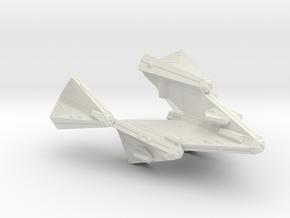 3788 Scale Tholian Stellar Domination Ship (SDS) in White Natural Versatile Plastic