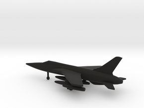 Republic F-105D Thunderchief in Black Natural Versatile Plastic: 6mm