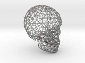 skull lattice model in Aluminum