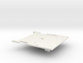 119 floor plate in White Natural Versatile Plastic