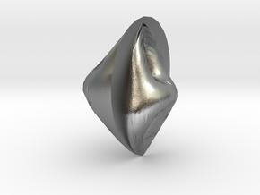 anglestone in Natural Silver