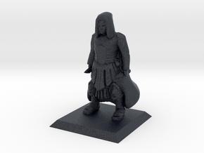 Human Cleric in Black Professional Plastic