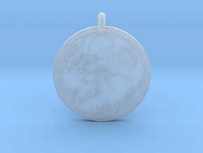 American Lobster  Animal Totem Pendant in Smooth Fine Detail Plastic