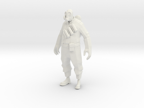 Printle V Homme 1554 - 1/24 - wob in White Natural Versatile Plastic
