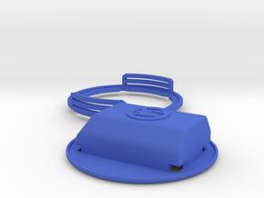 3Dex – Armband for Dexcom - No More Compressions in Blue Processed Versatile Plastic
