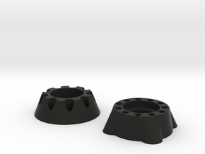 F110rearwidespacers in Black Natural Versatile Plastic