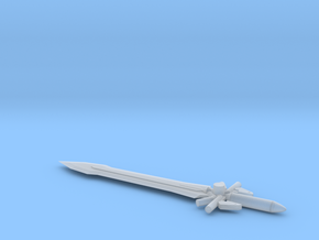 Ultima Sword for Deluxe Class Transformers in Smooth Fine Detail Plastic