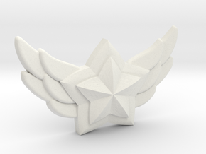 Star Guardian - First Star Pin in White Premium Versatile Plastic