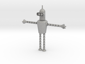 Bender Toy in Aluminum: Small